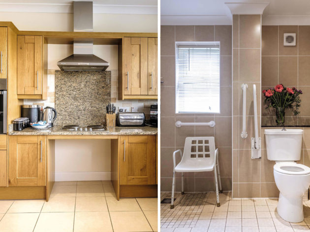 disabled-self-catering-somerset-kitchen-bathroom-split